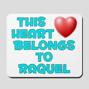 This Heart: Raquel (E) Mousepad