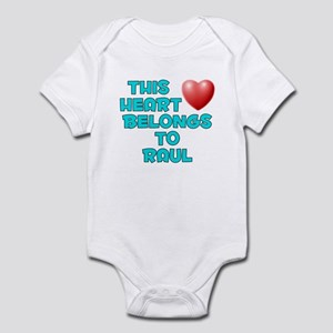 This Heart: Raul (E) Infant Bodysuit