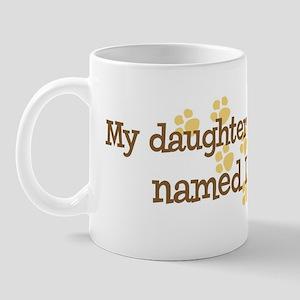Daughter named Loki Mug