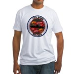 USS BANG Fitted T-Shirt