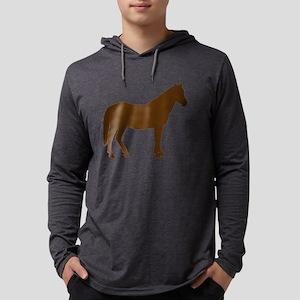 Brown Horse Long Sleeve T-Shirt