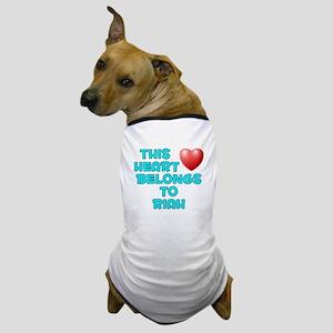 This Heart: Riah (E) Dog T-Shirt
