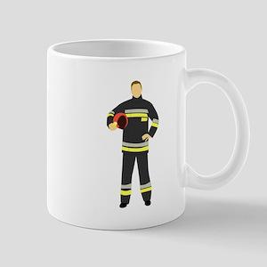 Fire Man Mugs