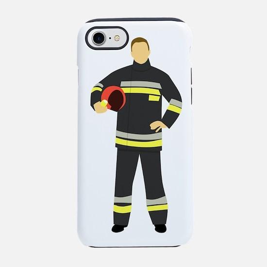 Fire Man iPhone 8/7 Tough Case