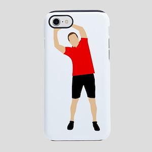 Exercising Man iPhone 8/7 Tough Case