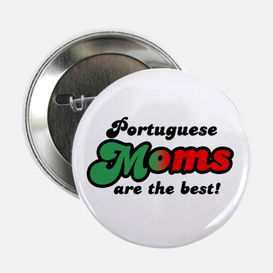 "Portuguese Mom 2.25"" Button"