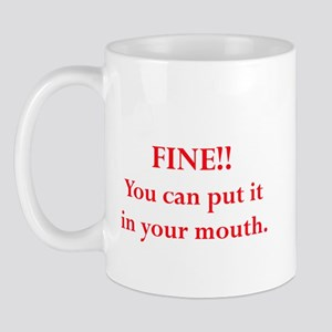 Oral pleasure Mug