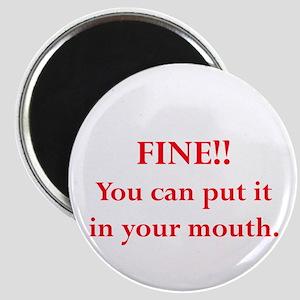 Oral pleasure Magnet