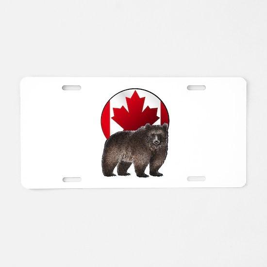CANADIAN PROUD Aluminum License Plate