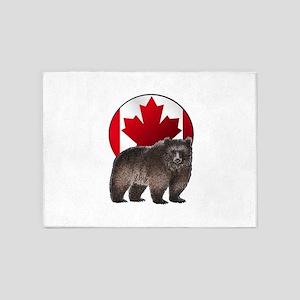 CANADIAN PROUD 5'x7'Area Rug