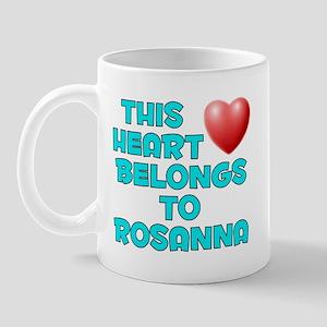 This Heart: Rosanna (E) Mug