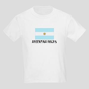 Argentina Rocks Kids Light T-Shirt