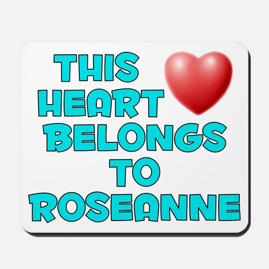This Heart: Roseanne (E) Mousepad