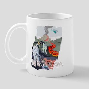 King of the Lava Mug