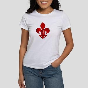 Fleur de lis Passion Women's T-Shirt