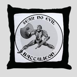Battalicon Throw Pillow