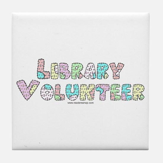 Volunteer Patchwork Tile Coaster