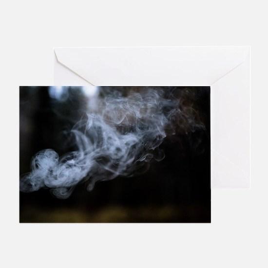 Unique Cigar smoker Greeting Card