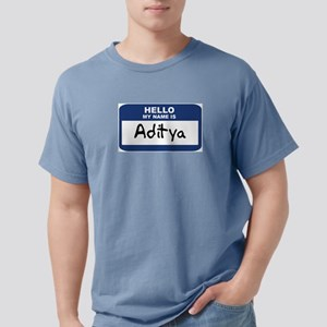 Hello: Aditya Ash Grey T-Shirt