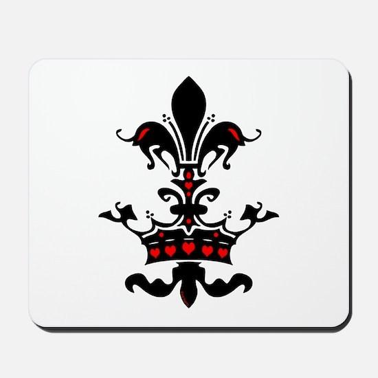 Valentine Crown Mousepad