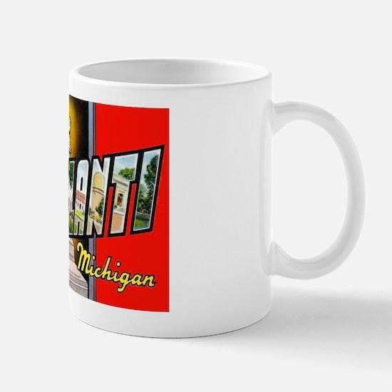 Ypsilanti Michigan Greetings Mug