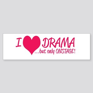 Stage Manager and Actor Gifts Bumper Sticker