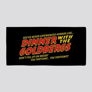 Dinner With The Goldbergs Horror Beach Towel