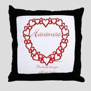 Havanese True Throw Pillow