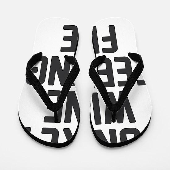 Funny Black friday Flip Flops