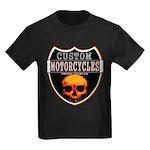 CUSTOM MOTORCYCLES Kids Dark T-Shirt