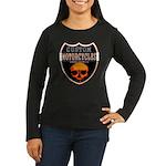 CUSTOM MOTORCYCLES Women's Long Sleeve Dark T-Shir
