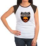 CUSTOM MOTORCYCLES Women's Cap Sleeve T-Shirt