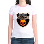 CUSTOM MOTORCYCLES Jr. Ringer T-Shirt