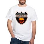CUSTOM MOTORCYCLES White T-Shirt