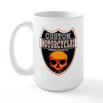 CUSTOM MOTORCYCLES Large Mug