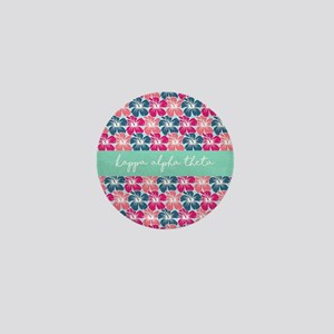 Kappa Alpha Theta Flowers Mini Button