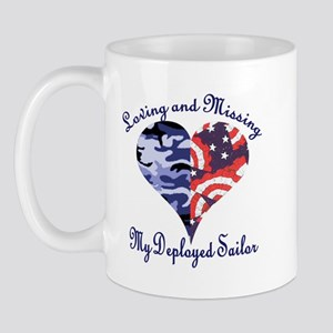 Loving and missing my deploye Mug