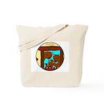 Holiday Gift Idea The Three Bears Tote Bag