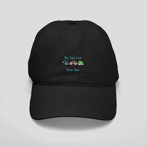 Dad Triathlete Triathlon Black Cap