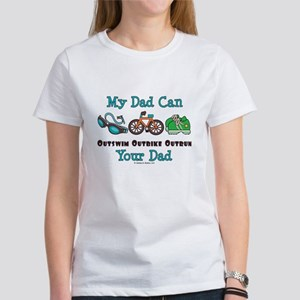 Dad Triathlete Triathlon Women's T-Shirt