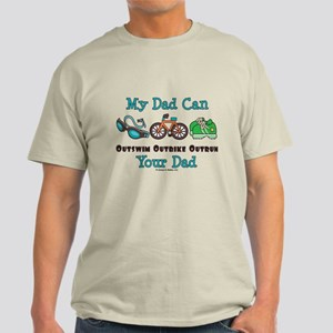 Dad Triathlete Triathlon Light T-Shirt