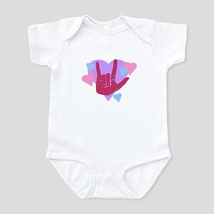 ILY Hearts Infant Bodysuit