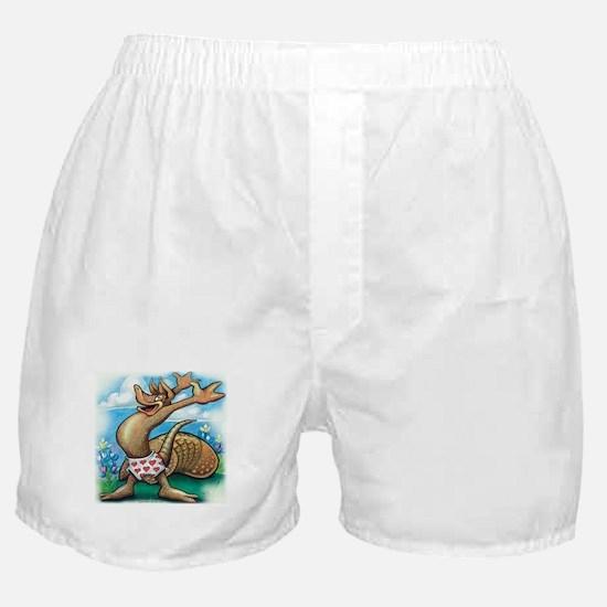Unique Texas armadillos Boxer Shorts