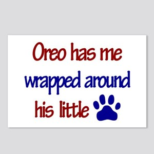 Oreo - Wrapped Around His Lit Postcards (Package o