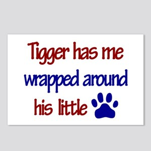 Tigger - Wrapped Around His L Postcards (Package o
