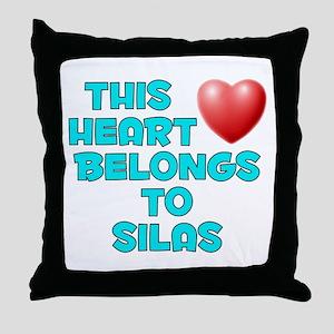 This Heart: Silas (E) Throw Pillow