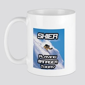 """Skier Playing Manager Today"" Mug"