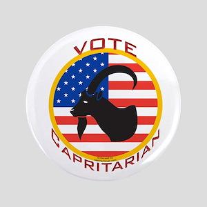 """Vote Capritarian 3.5"""" Button"""
