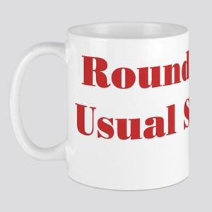 Usual Suspects 1 Mug