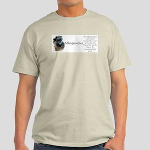 Affenpinscher Profile Light T-Shirt